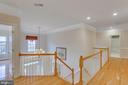 Hallway Upper Level - 11607 FOREST HILL CT, FAIRFAX