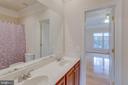 Spacious Full Bath w/ Double Sink - 11607 FOREST HILL CT, FAIRFAX