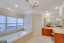 Master Bath Upgraded Recently - 11607 FOREST HILL CT, FAIRFAX