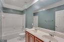 Full Bath w/ Double  Sink - 11607 FOREST HILL CT, FAIRFAX