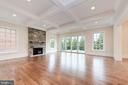 Large Family Rooms with Coffered Ceiling - 4513 HOBAN RD NW, WASHINGTON