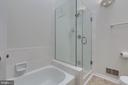 Master Bathroom w/ Soaking Tub & Separate Shower - 13309 FOXHOLE DR, FAIRFAX