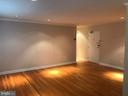 Large living room - 2400 41ST ST NW #513, WASHINGTON