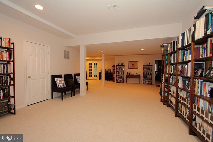 Lower level recreation room - 40674 JADE CT, LEESBURG