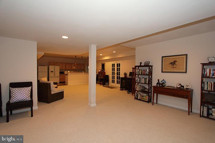 Lower level recreation room- Alt view - 40674 JADE CT, LEESBURG
