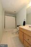 Lower level full bathroom - 40674 JADE CT, LEESBURG
