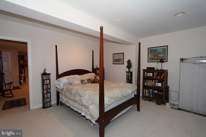 Lower level bedroom #5 - 40674 JADE CT, LEESBURG
