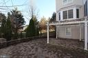 Large brick patio - 40674 JADE CT, LEESBURG