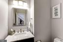 Renovated Powder Room - 44136 RIVERPOINT DR, LEESBURG