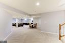 Huge Lower Level Recreation Room - 44136 RIVERPOINT DR, LEESBURG