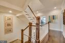 Spacious Hallway and stairwell - 2192 POTOMAC RIVER BLVD, DUMFRIES