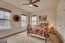 Bedroom with views and plenty of sunlight - 2192 POTOMAC RIVER BLVD, DUMFRIES