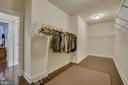 Master bedroom walk-in closet - 2192 POTOMAC RIVER BLVD, DUMFRIES