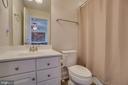 Upper level full bath - 2192 POTOMAC RIVER BLVD, DUMFRIES