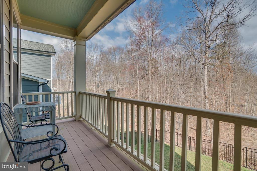 Second story balcony perfect for sight seeing - 2192 POTOMAC RIVER BLVD, DUMFRIES