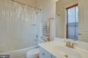 Lower level full bath - 2192 POTOMAC RIVER BLVD, DUMFRIES