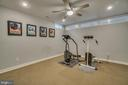 lower level open area  used for workout room - 2192 POTOMAC RIVER BLVD, DUMFRIES