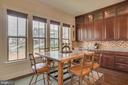 Generous Kitchen Table space over looking the tree - 2192 POTOMAC RIVER BLVD, DUMFRIES
