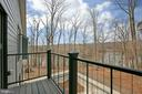 Bedrm #3  balcony and view! - 6027 TULIP POPLAR CT, MANASSAS