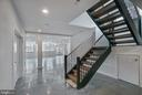 Staircase to lower level- glistening floors! - 6027 TULIP POPLAR CT, MANASSAS