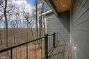 Bedrm #2 balcony and view! - 6027 TULIP POPLAR CT, MANASSAS