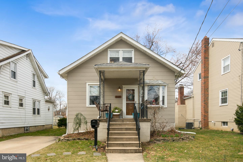 Частный односемейный дом для того Продажа на 208 GLENWOOD Avenue Merchantville, Нью-Джерси 08109 Соединенные Штаты