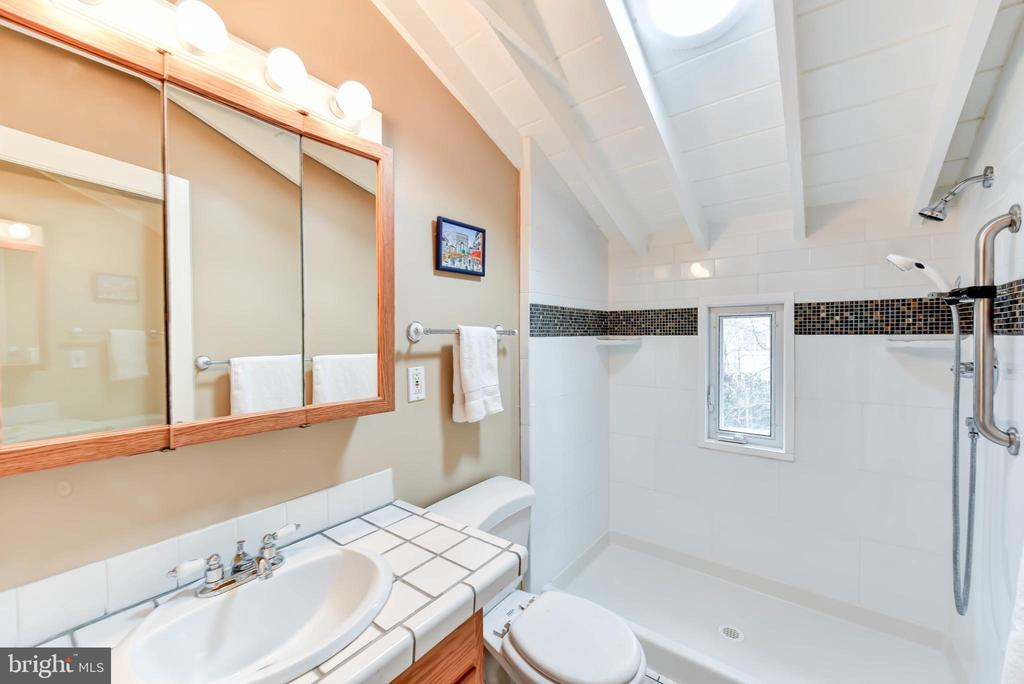 Updated bath, also with new Solatube - 4104 DUNCAN DR, ANNANDALE