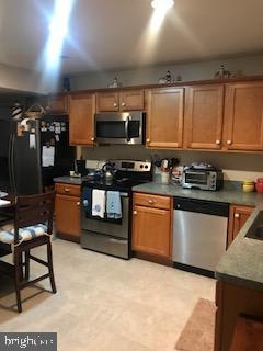Lower level kitchen - 9416 EVERETTE CT, SPOTSYLVANIA