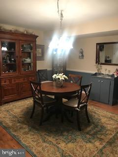Lower level dining room - 9416 EVERETTE CT, SPOTSYLVANIA