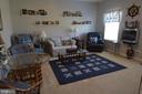 Main level living room - 9416 EVERETTE CT, SPOTSYLVANIA