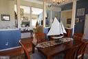 Main level dining room - 9416 EVERETTE CT, SPOTSYLVANIA