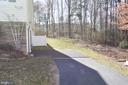 Basement private patio - 9416 EVERETTE CT, SPOTSYLVANIA