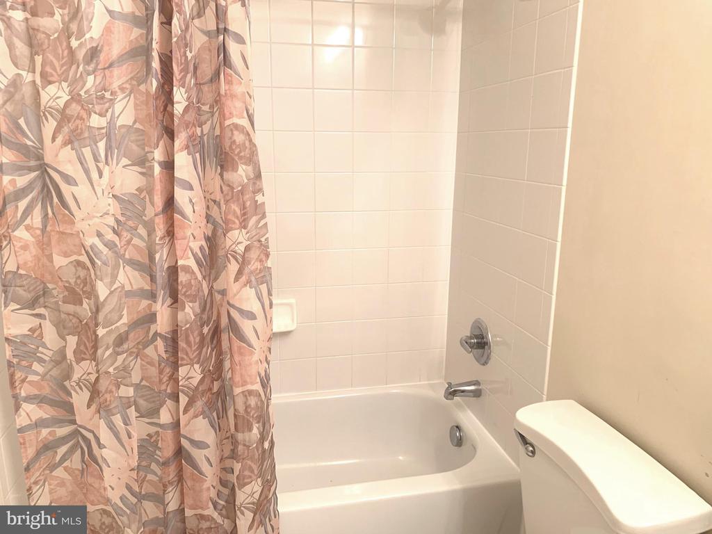 Hallway Bath with tub - 1112 RESERVE CHAMPION DR, ROCKVILLE