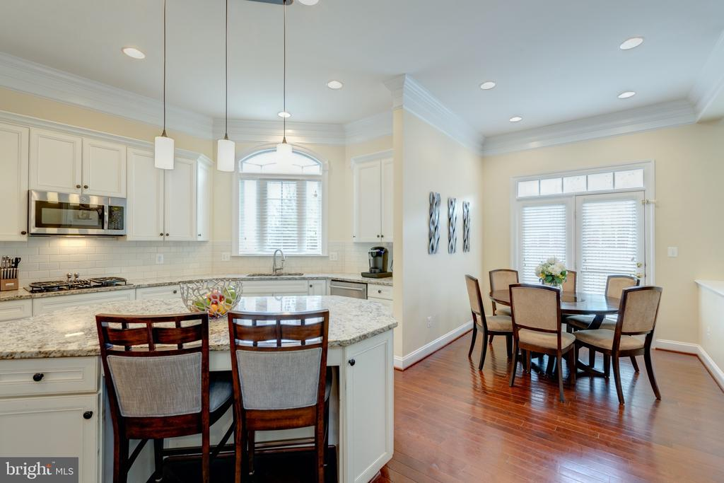 Plenty Of Seating -Room For A Full Kitchen Table - 43853 RIVERPOINT DR, LEESBURG