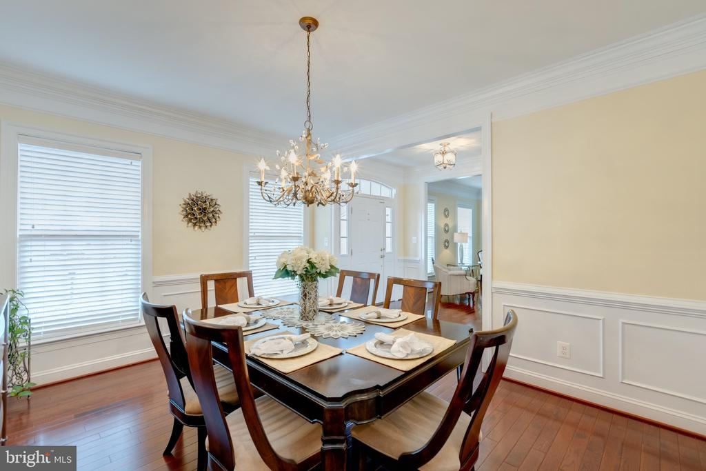 Dining Room - 43853 RIVERPOINT DR, LEESBURG