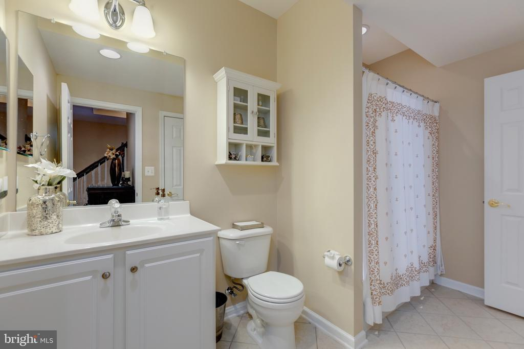 Lower Level Full Bath - 43853 RIVERPOINT DR, LEESBURG