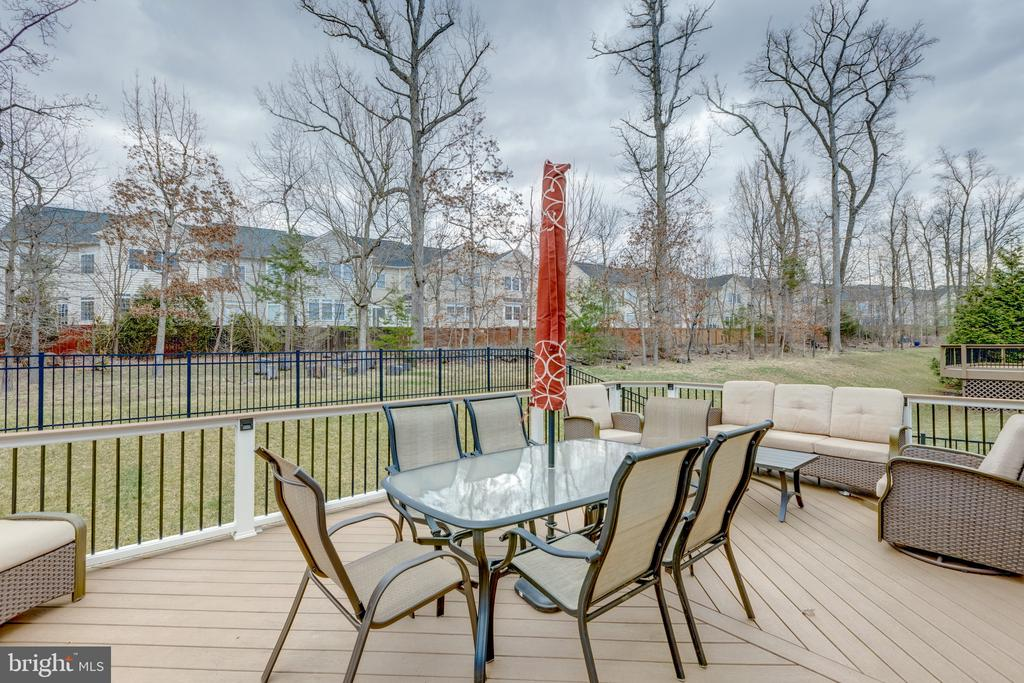Exterior - Deck - 43853 RIVERPOINT DR, LEESBURG