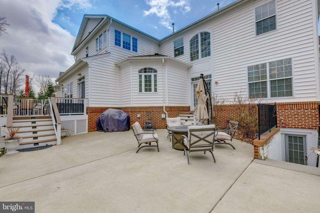 Exterior - Patio - 43853 RIVERPOINT DR, LEESBURG