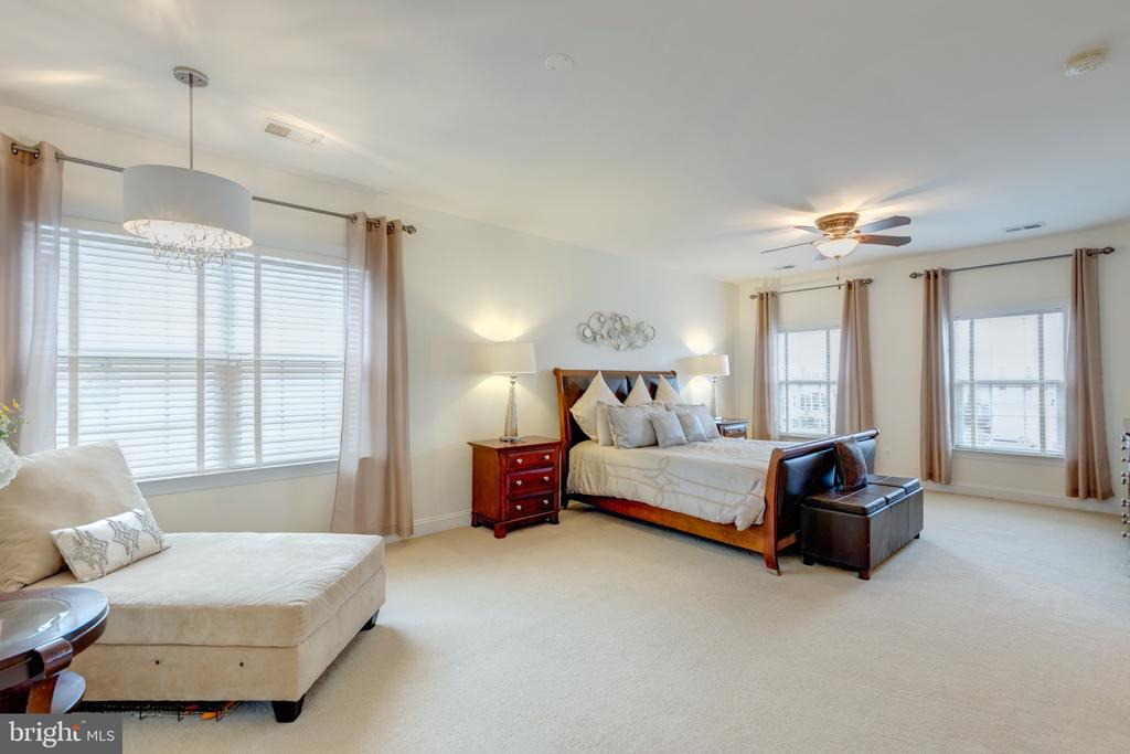 Master Bedroom w/Sitting Area - 43853 RIVERPOINT DR, LEESBURG