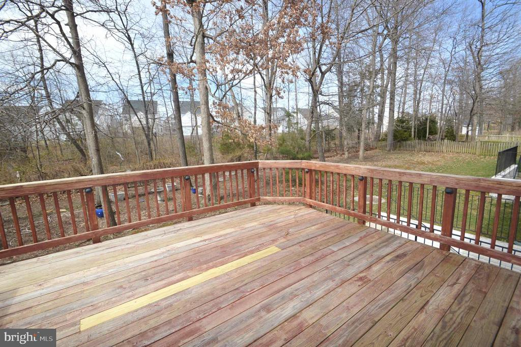 Deck - 25989 DONOVAN DR, CHANTILLY