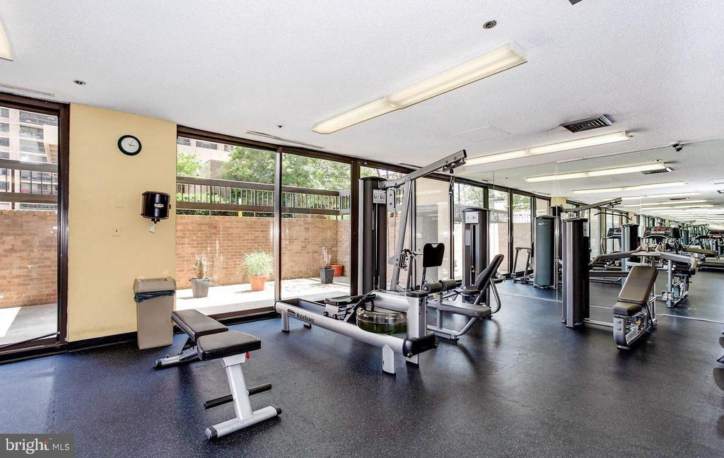 Elite exercise room - 5505 SEMINARY RD #613N, FALLS CHURCH