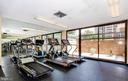 Exercise room - Ample machines - 5505 SEMINARY RD #613N, FALLS CHURCH