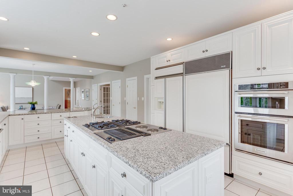 Gourmet Kitchen. - 2107 POLO POINTE DR, VIENNA
