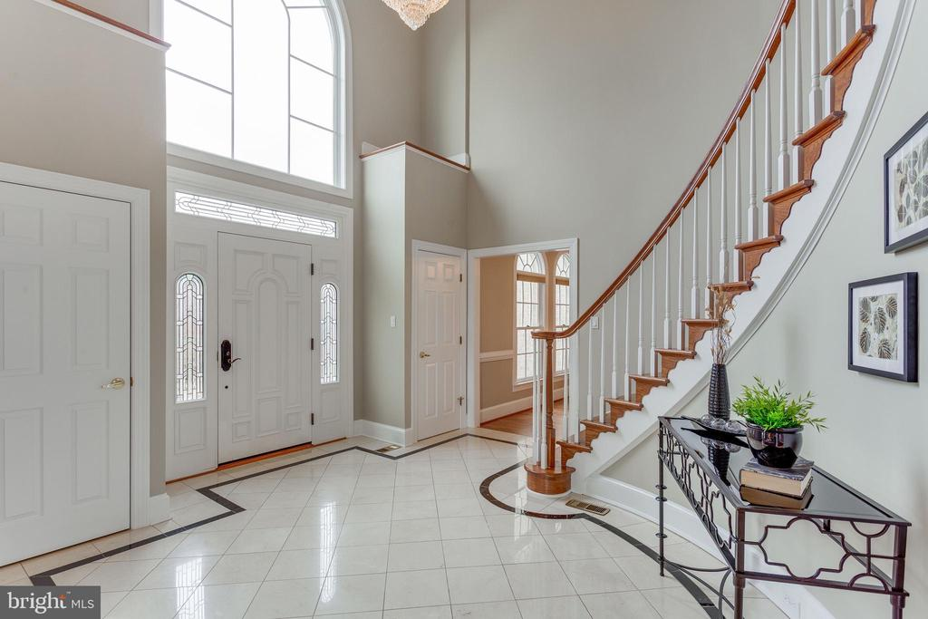 Sun-filled Foyer. - 2107 POLO POINTE DR, VIENNA