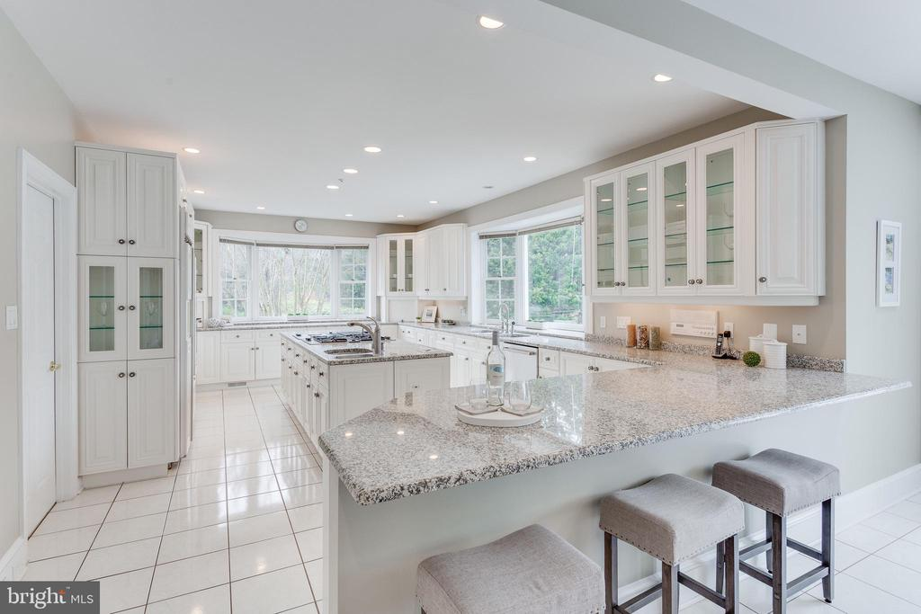 Stylish White Cabinetery & Granite. - 2107 POLO POINTE DR, VIENNA