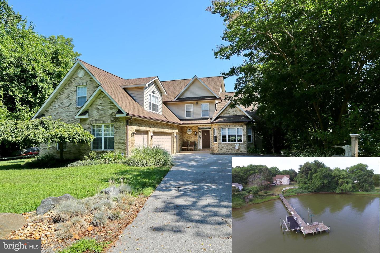 single family homes för Försäljning vid Cobb Island, Maryland 20625 Förenta staterna