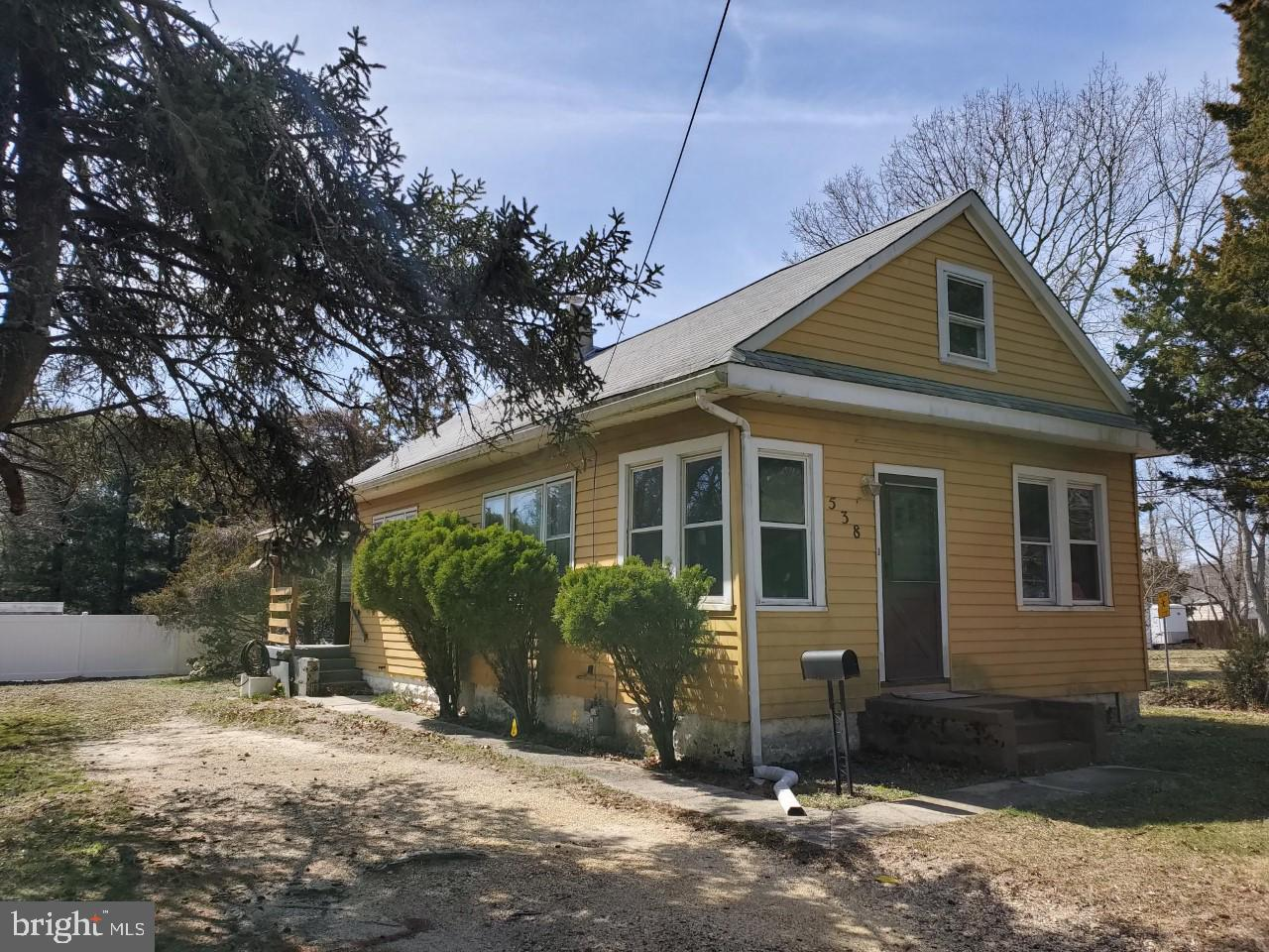 Частный односемейный дом для того Продажа на 538 WALNUT Avenue Northfield, Нью-Джерси 08225 Соединенные Штаты