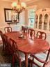 Formal Dining Room Chandelier - 405 FORBES ST, FREDERICKSBURG