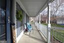 Lovely Front Porch! - 9 BANKSTON CT, STAFFORD