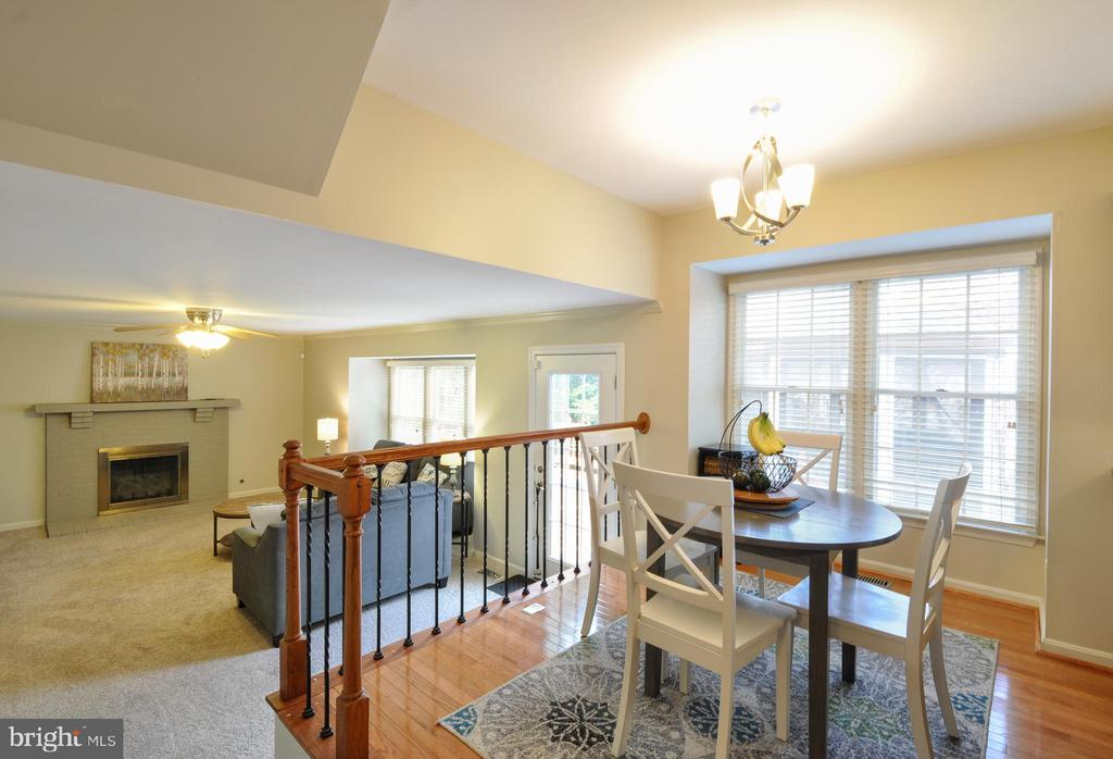 Open to Family Room - 9 BANKSTON CT, STAFFORD